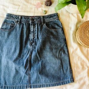 Vintage Old Navy High Waisted Denim Mini Skirt